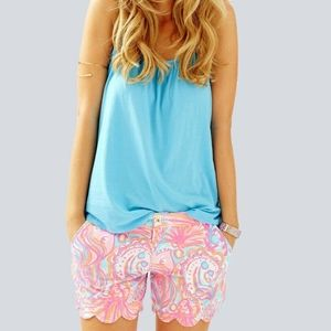 Lilly Pulitzer Buttercup Shorts Too Much Bubbly 4